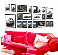 Multi Picture/Photo 20 Pieces Wooden Frames Hang Wall Mounted