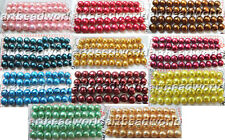 8-9mm half drilled Genuine cultured freshwater pearl Loose beads  USA BY EUB