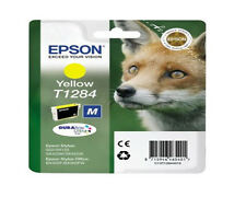 Epson T1284 Genuine Printer Ink Cartridge Yellow