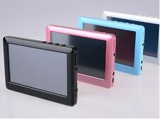 """8GB 4.3"""" Inch TFT Touch Screen MP3 MP4 MP5 Vedio RMVB Player FM Radio TV-out"""