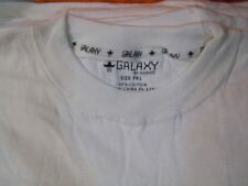 7XL Galaxy  1 dozen white blank short sleeve t-shirts