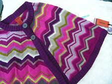 MISSONI for Target SWEATER PONCHO SWEATER Junior size L, XL, (Women size S/M)