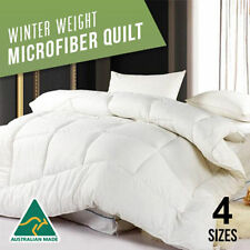 Single/Double/Queen/King/Super King 400GSM Winter Weight Microfibre Quilt