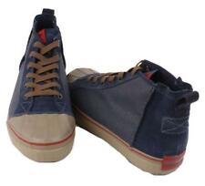 Sorel Sentry Mens Abyss Blue/Red/Brown Canvas Chukka CVS Casual Sneakers