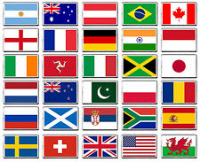 FLAGS OF THE WORLD ANY COUNTRY FRIDGE MAGNET 30 CHOICES!!!
