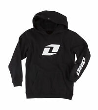 ONE INDUSTRIES YOUTH KIDS ICON PO HOODY BLACK PULLOVER HOODIE CHEAP MX BOYS NEW