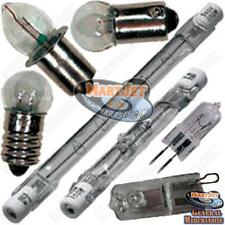 NEW! Replacement Light Bulbs Lamps: Various Volt Watt Size Shape Base Type Glass