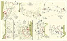 Civil War Map Print - Fort Donelson And Fort Henry Tennesse -   1862 - 37 x 23