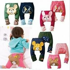 Cute Pattern Toddler Boys Girls Kids PP Pants Baby Warmer Cotton Pants Trousers