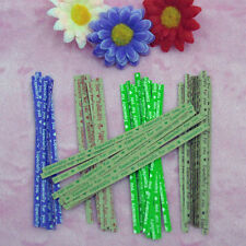 """Lovely sweet """"especially for you"""" twist ties 5 colors food gift bag packaging"""