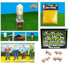 Kids Globe Toys - Scale Farm Toy Packs - 1:32 Farmyard Model Animals, Bales etc!