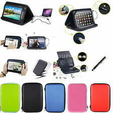 """Colorful Speaker Leather Case+Stylus For 10.1"""" iRulu/Zeki TB1082B Android Tablet"""