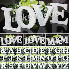 Craft Wood Wooden Letters Bridal Wedding Party Birthday Toys Home Decorations