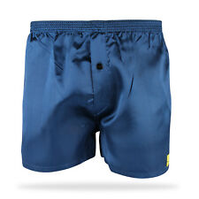 1 PACK SATIN BOXER SHORTS NAVY BLACK GREY ALL SIZES AVAILABLE M L XL XXL S