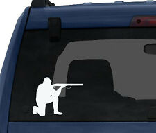 Hunting Rifle Aim #7- Deer Duck Hunt Chasing Tail - Car Tablet Vinyl Decal