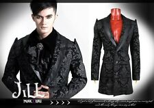 Goth visual royal aristocrat Thunder emperor majesty insignia dress suit Y448 BK