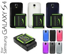 YESOO NFC Extended Battery /Cover + TPU Case + Charger For Samsung Galaxy S4