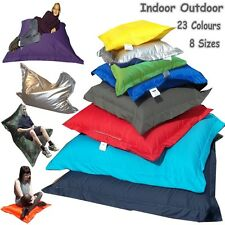 Large Indoor Outdoor Giant Bean Bags Kids Adults Beanbag Floor Cushions Filled
