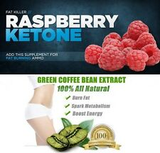 Green Coffee Bean Extract & Raspberry Ketone Diet Capsules Weight Loss Pills