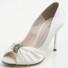 NEW Women's Wedding Heels Shoes Party Pumps Bridal Shoes 0987 Made In Korea Item