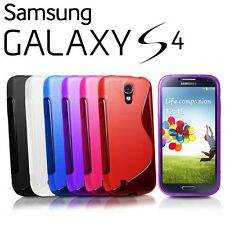 S Line Wave Gel Case Cover For Samsung Galaxy S4 IV i9500
