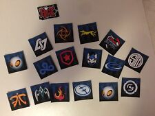 LEAGUE OF LEGENDS LCS TEAM LOGO STICKERS! GOOD QUALITY