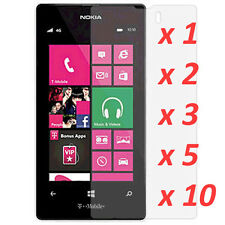 Crystal Clear LCD Screen Protector Film Cover 4 Nokia Lumia 520  [lot]