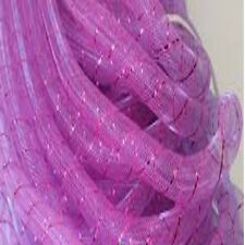 TUBULAR CRINOLINE per metre Craft, fascinators, millinery, cyberlox, art, races