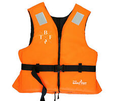 50N ORANGE TBF ADULT - BUOYANCY AID foam TWO BARE FEET life Jacket ski sailing