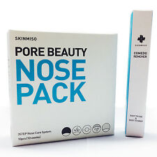 Blackhead & Pore Beauty Nose Mask Pack 4,10 Sheet + Essence 15ml, Remover Select