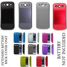 EXTENDED BATTERY BACK  COVER AND TPU CASE FOR SAMSUNG GALAXY S3 I9300 SIII
