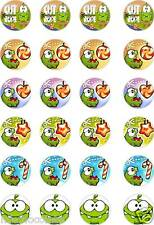 24x PRECUT CUT THE ROPE RICE/WAFER PAPER CUP CAKE TOPPERS