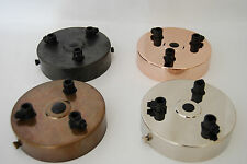 Ceiling Rose 3 WAY Outlet with CORD GRIP Lamp Light Antique Vintage Retro