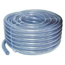Clear Braided Flexible PVC Hose Pipe for Water Air Oil & Gases Reinforced Tubing