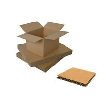 "6 X 6 X 6'' QUALITY SINGLE WALL POSTAL MAILING CARDBOARD BOXES 6"" CUBE S/W"