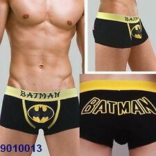 New Sexy Batman Costume Cartoon Comic Men Briefs/Boxers/Underwear Black M/L/XL