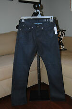 Men's PacSun Bullhead LA Straight Leg Gravels Slim Dark Denim Jeans Pants