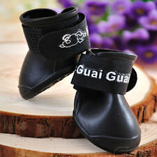 New Candy Colors Dog Boots Waterproof Protective Rubber Pet Rain Shoes Booties