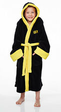 ROCKY BALBOA BOXING Fleece Hooded Dressing Gown Bath Robe (Child Sizes)