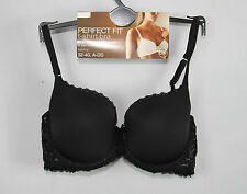 Marks & Spencer Underwired Perfect Fit T- Shirt Bra Black 32 to 40 A B C D DD