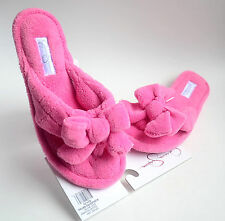 Jessica Simpson Women's Microfiber Cute Thong Slippers Pink Size S M L XL NEW