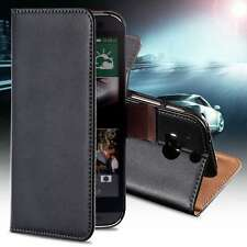 Luxury Genuine Leather Flip Case Cover Stand Wallet  Magnetic For HTC ONE M7 New