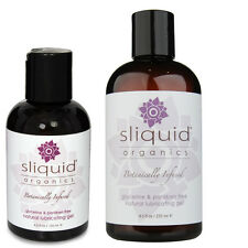 Sliquid Organic Natural Water Based Gel Personal Sex Lubricant - All Sizes