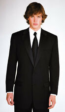 Calvin Klein Miami 2 Button Black Regular Tuxedo-Newest Collection
