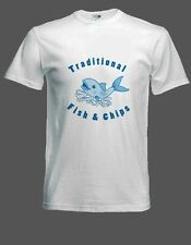 New Fish & Chip Shop T-Shirt in any size