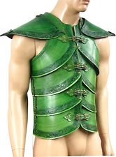 Leather Basic Elf Noble Armor Larp SCA Medieval Cosplay Costume Armor