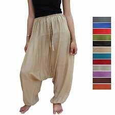 PANTALOON variable size Aladdin Balloon pants trousers unisex casual loose fit