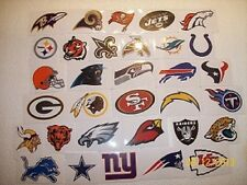 (1) NFL Logo Sticker Football Vending all teams available (YOU PICK ONE!)