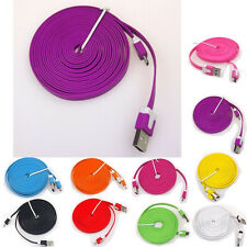 10FT/3M USB Sync Data Cable Charger for Samsung Galaxy S4 S3  Nokia HTC Sony
