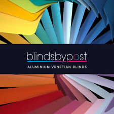 Aluminium 25mm Metal Venetian Blinds - Made To Measure - Unbeatable Quality